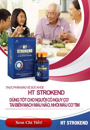 HT Strokend điều trị tai biến mạch máu não